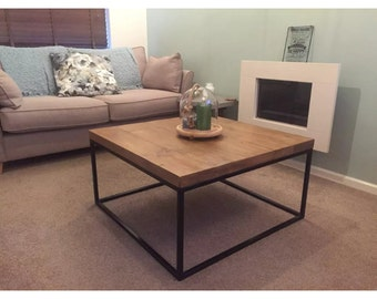 Reclaimed vintage chic Calia style coffee table