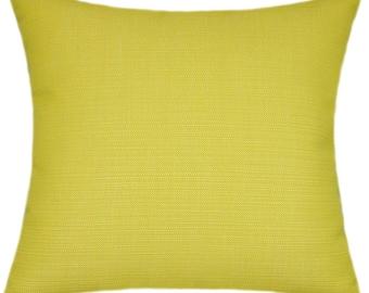 Sunbrella Echo Citron Indoor/Outdoor Pillow
