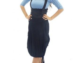 Pinafore dress, Black overall dress, Black pinafore, Maxi dress, Maxi pinafore, Overall dress, Pinafore, Pinafore dress