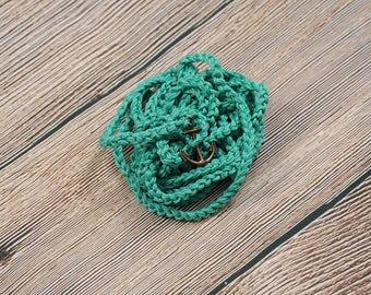 cuff bracelet / bohemian wrap / crochet jewelry / spring jewelry / Crochet Wrap Bracelet / Bracelets / Friendship Bracelet / Simple jewelry