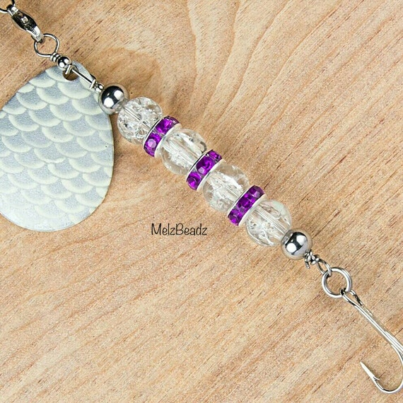 Personalized fishing lurecustomizable fishing lure beaded for Engraved fishing lures