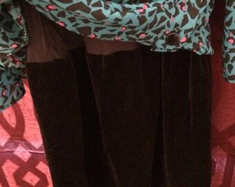 M.C.S ltd Vintage Geometric Dress