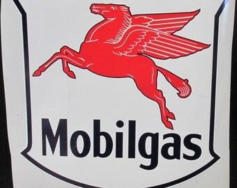 """Mobilgas Pegasus 8.5"""" x 9.5"""" Decal"""