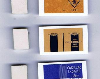 1:25 G scale model Cadillac car shop service manuals