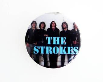 "The Strokes - 1"" Pin back Button Badge"