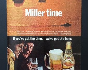 Miller beer ad   Etsy