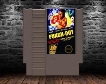 Mike Tyson's Intergalactic Punch Out - Classic Alien Boxing Bashing - NES