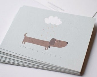 "Card mailing ""Mr. sausage"""