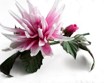 Silk Flower Tutorial, Flower making, Flower tutorial, How to make flowers, Somebana, Flower pdf tutorial, japanese flower