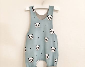 Jumpsuit / Dungarees / reversible salopettes for babies and kids