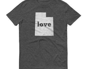 Utah Shirt, Utah TShirt, Utah Love Shirt, Utah State, Utah Tee, Utah State Pride, Utah Gifts, Utah Map, UT Shirt, UT TShirt, Tee, UT