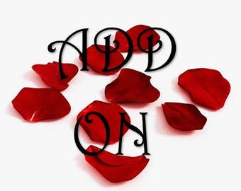 Fallen Rose Petals--ADD ON for Enchanted Rose Jar