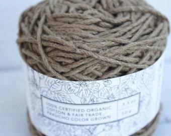 Deep Green - Colourgrown Cotton - Certified Fair Trade & Organic