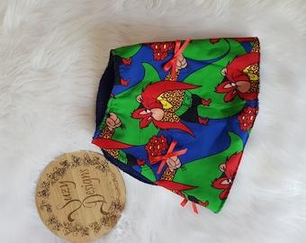 Floral burping cloth & bib set