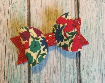 Ditsy Floral Bow