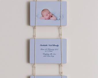 "Birth Announcement Photoblocks 6x4"""