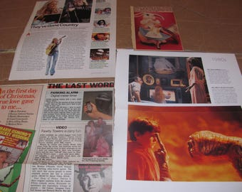 HEATHER  O'ROURKE   poltergeist star  clippings  #0410