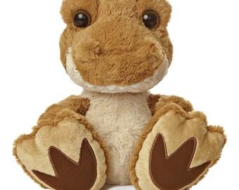 Personalized Keepsake Animal, Dinosaur, Stuffed Animal, Birth Announcement