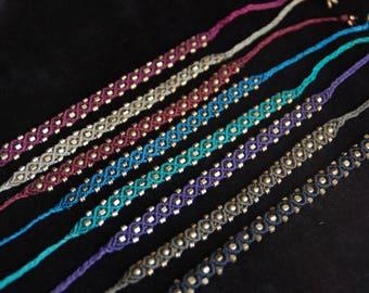 Macrame' bracelets