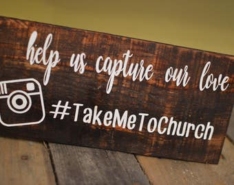 Wedding Hashtag Sign, Party Hashtag Sign, Hashtag Sign, Social Media Sign, Help us Capture our love, Wedding Sign