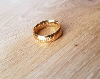 """Flexible silicone ring mold """"the Lord of the rings"""""""