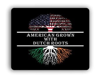American Grown With Irish Roots Computer Mouse Pad