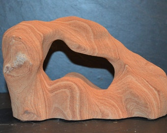 Sandstone Carving Specimen Mineral Collectable Item