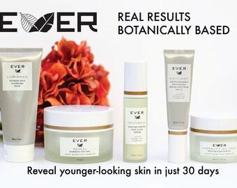 EVER Skincare Regimen Postcard w/ Blank back