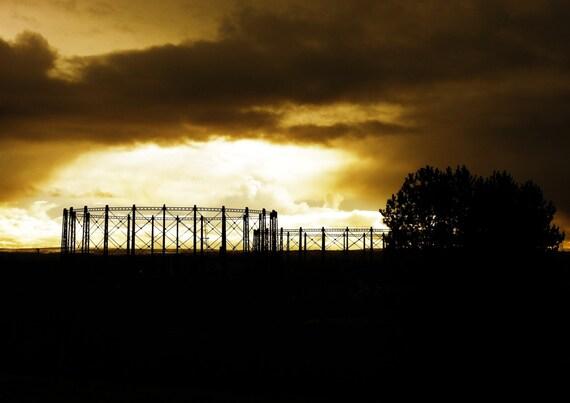 gasworks from  dawshome park