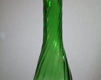 Vintage Hoosier Glass Bud Vase (1970s)