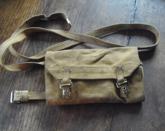 WWII Military Canvas Ammunition Belt