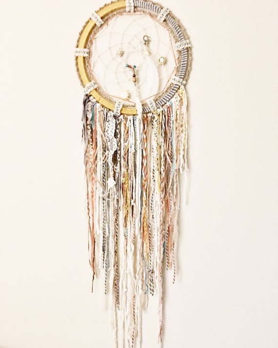 Bohemian sea boho dream catcher