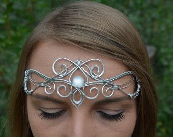Celtic circlet, Elven Circlet, warrior princess, Elven Crown, Medieval crown, wedding crown, elven headpiece, celtic tiara, Bridal Crown
