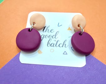 The Cherry - handmade polymer clay dangly