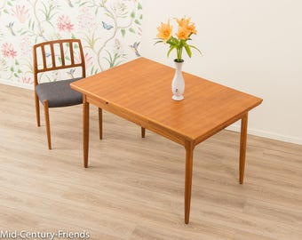 TEAK dining table, table, 60s, vintage (704019)