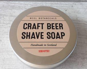Craft Beer Shaving Soap