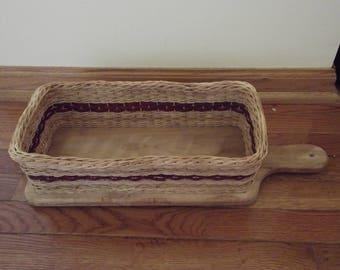 Bread board basket - choose your color