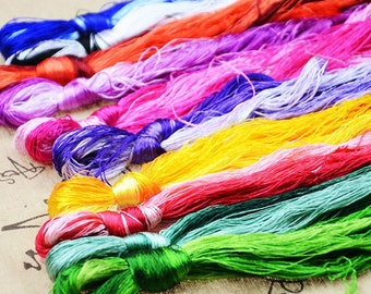 100 x Silk Embroidery Floss/Threads - Suzhou Embroidery Thread