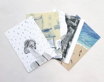 Postcard pack of 4