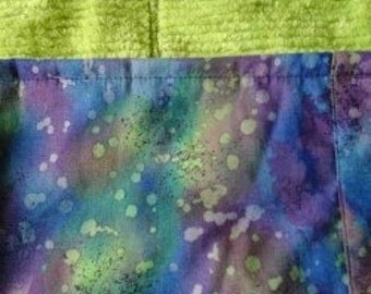 Water print and Lime lap weight