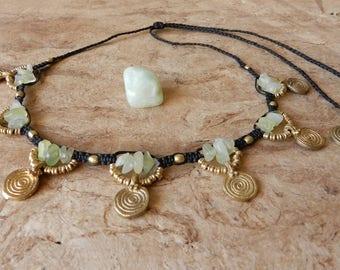 Tribal Necklace Jade