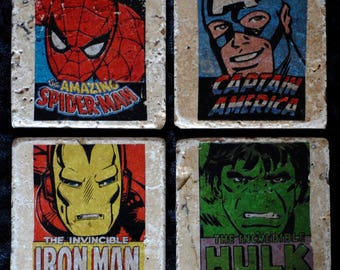Superhero Coasters