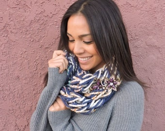 Devin's Ultimate Hand Knit Infinity Scarf