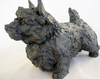 Norwich Terrier/Ceramic Dog
