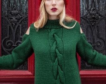 Florence Open Shoulder Sweater