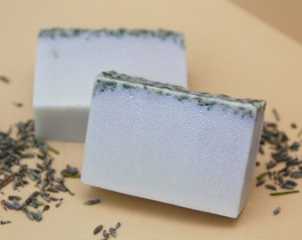 The FancyClean ~ lavender soap, bath magic, relaxation, calming, spa