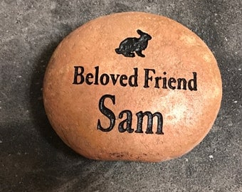 Small Pet Memorial Stone (Grave Stone / Marker)