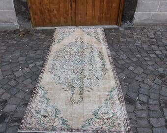 3.9x8.6 Ft Handwoven Rug Pale Color Rug Floor Rug Naturel Turkish Carpet Decorative Rug Home Decor Area Rug Large Size Rug