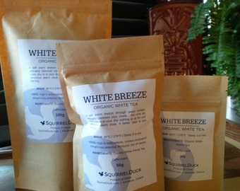 White Breeze - Organic White Peony Tea