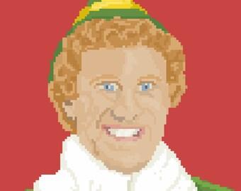Elf Pixel Art Sticker